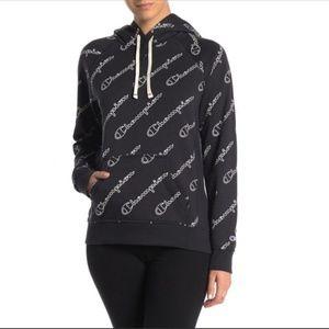Champion Heritage Logo Fleece Lined Pullover